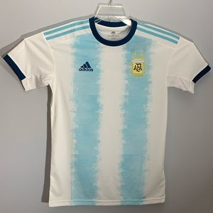 Adidas Argentina national team home soccer jersey
